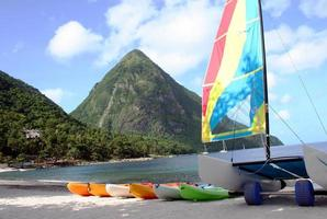 watersporten in st lucia