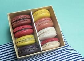 Rows of Macaroons photo