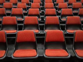butaca de auditorio foto