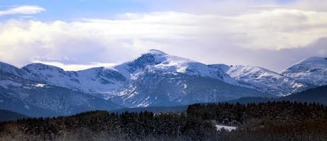 montaña de invierno