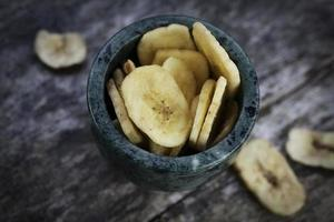Dried banana fruit
