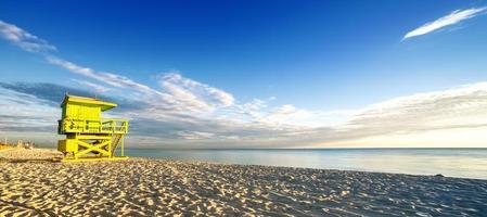 miami south beach amanecer foto