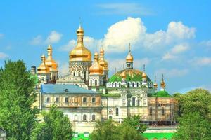 Monasterio de Kiev Pechersk en Kiev foto