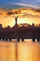 Kiev skyline