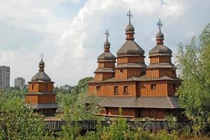 Traditionnal ukrainian church photo