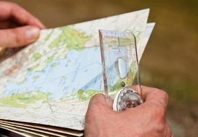 course d'orientation de Lake District