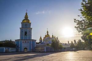 Early summer morning in Kiev
