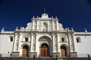 Cathedral in Antigua, Guatemala photo