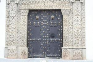 Ornate Doorway Antigua Guatemala