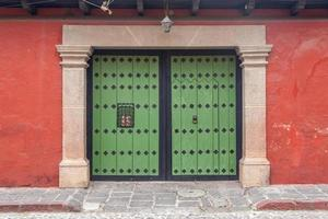 guatemala, antigua, arquitetura, américa centrale, porte