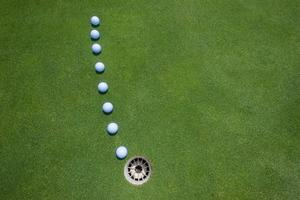 Golf Putting Green Balls