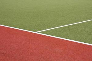 Artificial turf with marking
