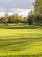 campo de golf foto