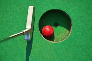 Miniature golf photo