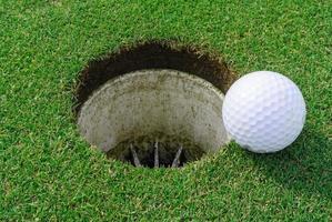 golf hole photo