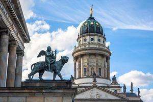 Exterior de la catedral francesa en Berlín, Alemania foto