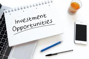 Investment Opportunities photo
