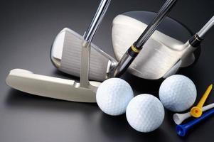 equipo de golf. foto