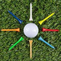 estrella de la pelota de golf foto