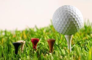 pelota de golf. foto