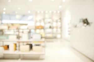 Abstract blurry bright luxury shop