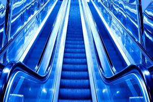 abstract dark steps