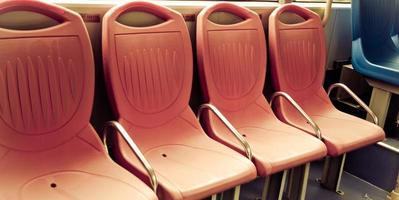 stadsbus stoel