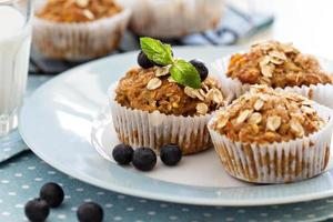 muffins vegan banane carotte