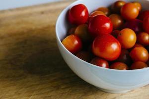 cherry tomatoes photo