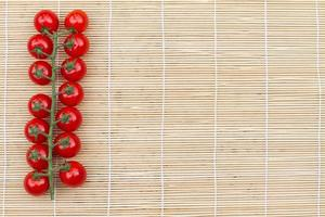 truss of tomatoes photo