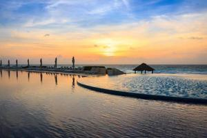 Infinity Pool at Sunrise