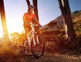 mountain bike athlete photo