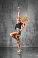 bailarina de estilo callejero