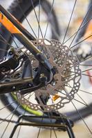 Mtbike disk brake photo