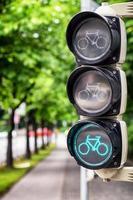 semáforo para bicicletas