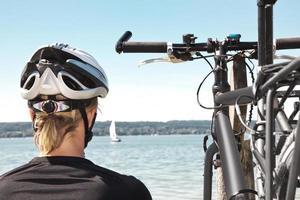 relaxing bike tour