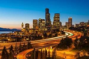 Seattle Skyline photo