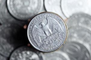 Quarter dollar photo