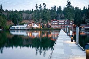 Hood Canal pier and hotel