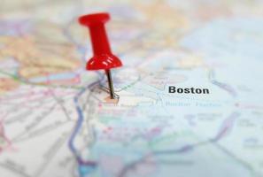 mapa de boston foto