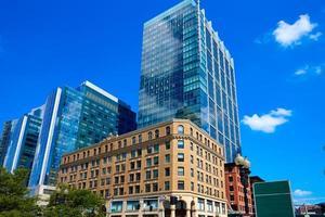 edificios del centro de boston massachusetts foto