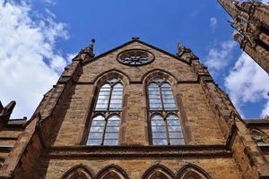 iglesia histórica en el centro de boston foto