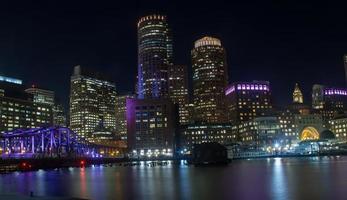 skyline di Boston