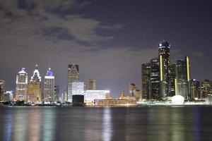 Detroit Skyline photo