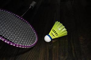 Badminton equipment photo