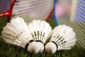 Badminton shuttlecock photo