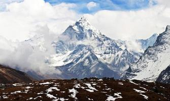 Ama Dablam peak, Nepal photo