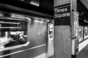Times Square Subway photo
