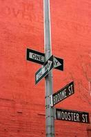 plaques de rue à soho