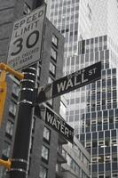 Estados Unidos - Nueva York - Nueva York, señal de tráfico foto